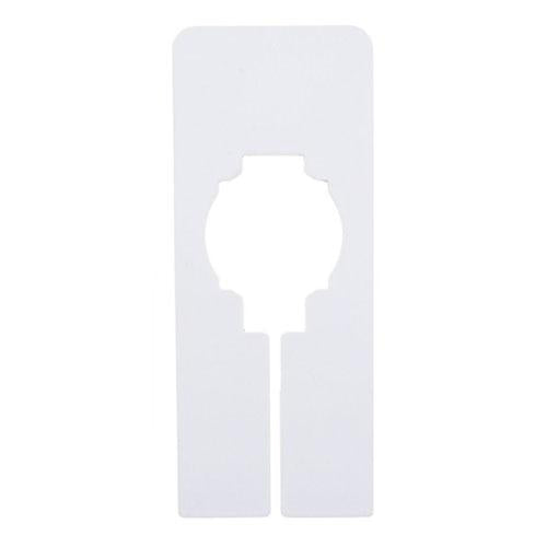 Rack Dividers, Mini Rectangle - White
