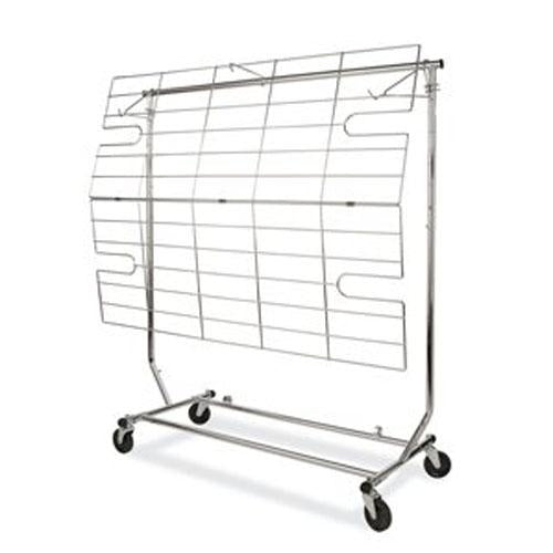 Rack Bottom - Chrome (for Collapsible)
