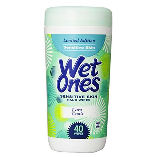 Wet Ones Canister - Green Sensitive