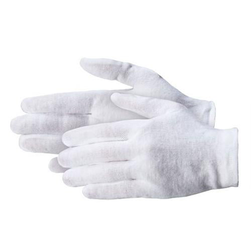 Cotton gloves - White