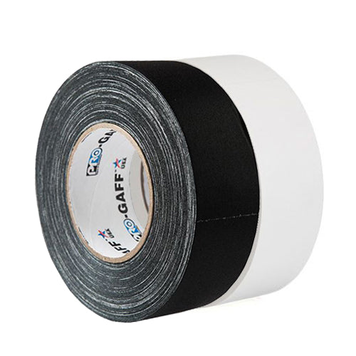 "Cloth Gaffer's Tape 2"" - Black & White"