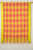 Big Check Kuppadam Cotton and Silk Handloom Dupatta -Yellow, Orange