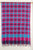 Checkered Cotton Handloom Dupatta -Blue, Purple, Pink
