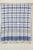 Checkered Cotton Handloom Dupatta -White, Blue, Grey