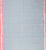 Golden Gate Dobby Border Cotton Handloom Fabric -Grey and Pink