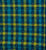 Buta Multicolor Checks Cotton Handloom Fabric - Blue and Green