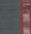 Golden Gate Dobby Border Cotton Handloom Fabric - Deep Grey and Red