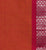 Golden Gate Dobby Border Cotton Handloom Fabric - Orange and Magenta