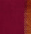 Golden Gate Dobby Border Cotton Handloom Fabric - Wine and Orange