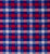 Buta Multicolor Checks Cotton Handloom Fabric - Blue and Red