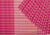 Checks Multicolour Cotton Handloom Saree - Pink & White