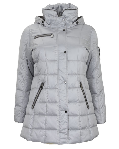 Junge Hooded Quilted Coat