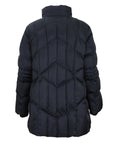 Fen-nelli Northside Diamond Quilted Coat With Faux Fur