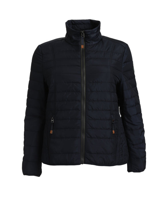 Junge Puffer Jacket with Contrast Zipper
