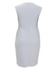 Joseph Ribkoff Dress with Pearl Beaded Motif