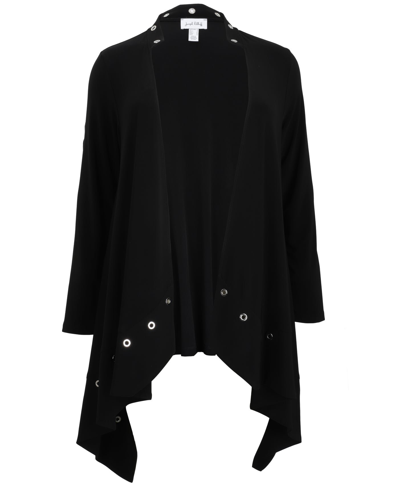 Joseph Ribkoff Long Sleeve Cardigan With Grommet Detail
