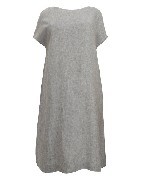 Bryn Walker Ansley Cross Dye Linen Dress