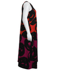 Alembika Sphere Print Sleeveless Jersey Dress