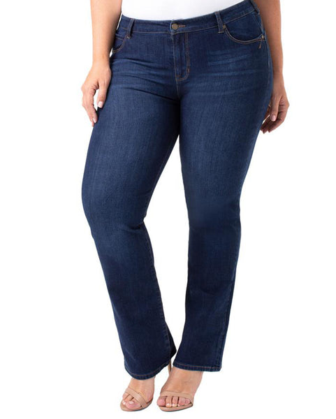 Liverpool Remy Hugger Straight Contour Jean
