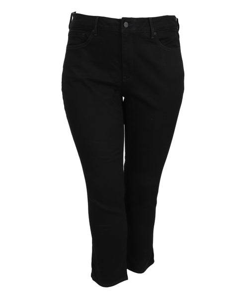 NYDJ Sheri Slim Jean in Black