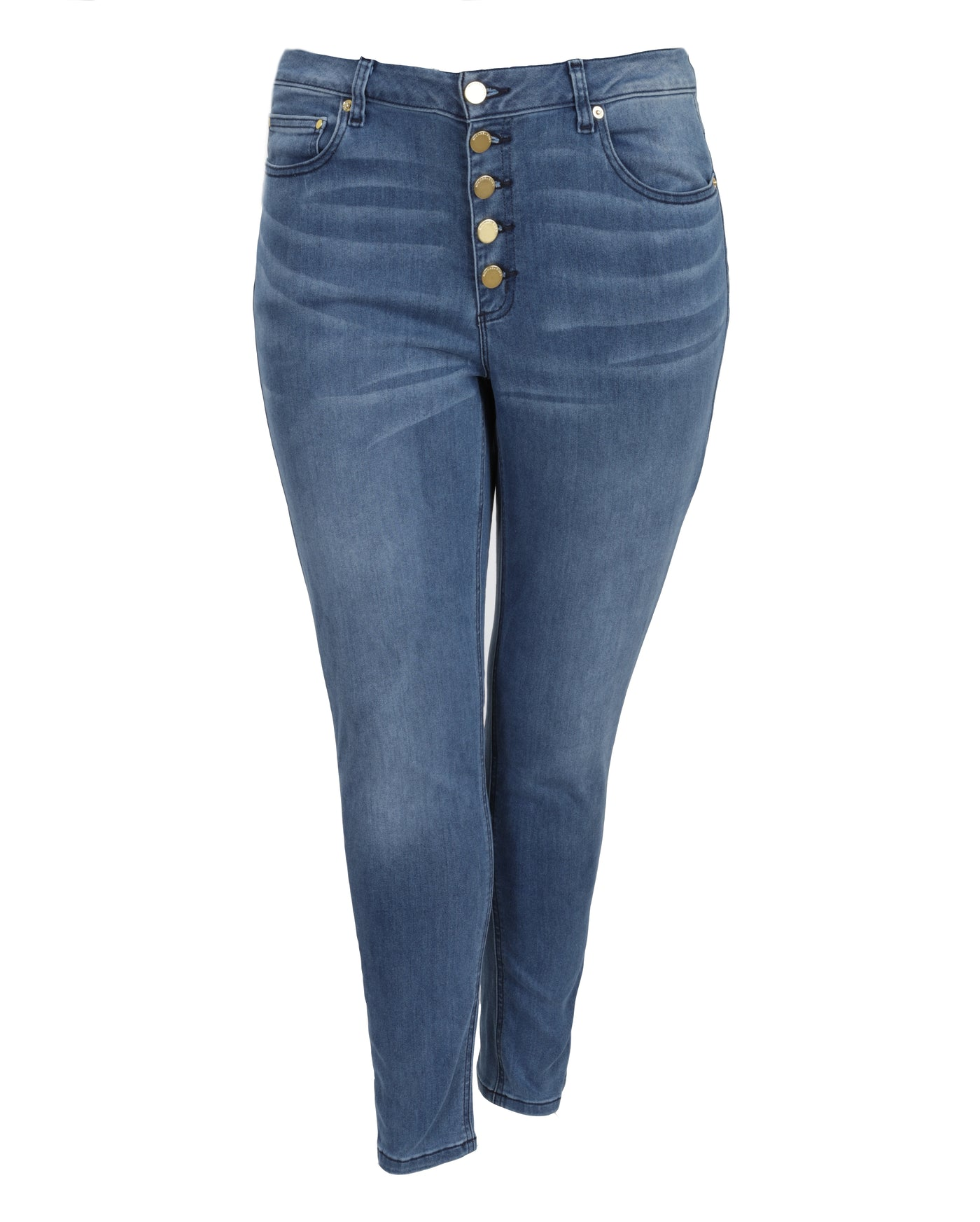 Michael Kors Button Front Denim Pant
