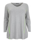 Caroline Grace V-Neck Tunic Sweater