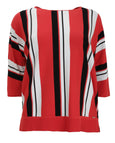 Samoon Vertical Stripe Sweater
