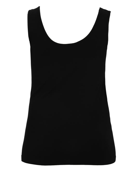 C'est Moi Bamboo Bra Friendly Tank in Black