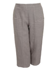 toni T by Toni Plus Linen Crop Pant with Pockets in Sand