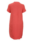 toni T by Toni Plus Short Sleeve Split Neck Dress