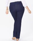 NYDJ Marilyn Straight Jeans in Rinse