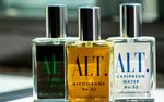 ALT. Fragrances Mohair inspired by Green Irish Tweed, Nicotianna inspired by Tobacco Vanille, & Caribbean Water Inspired by Virgin Island Water