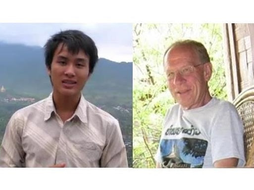 The two founders of the Nature Bag Project, Bonsou Keoamphone and William Newbrough.