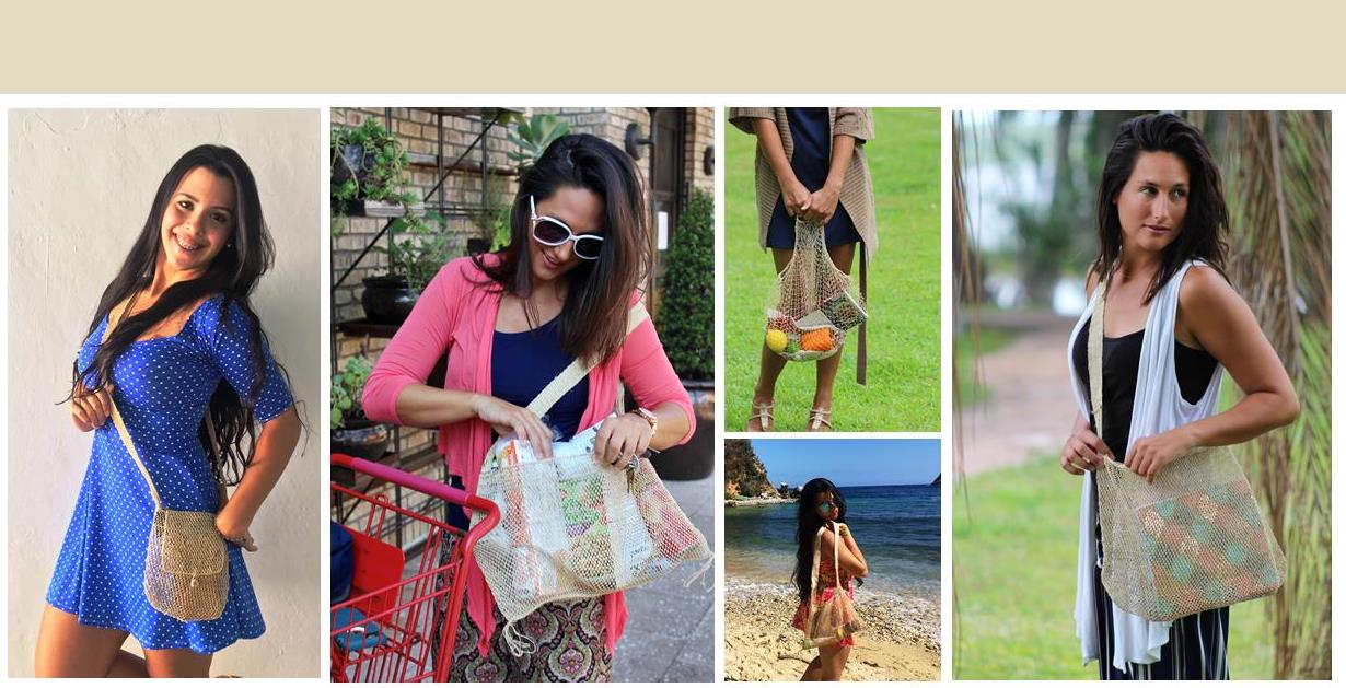 Nature Bags are artisan-made using eco-friendly JungleVine® Fiber