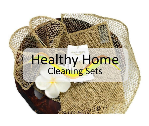 JungleVine® Healthy Home Cleaning Sets, handmade using 100% sustainable fiber, are the most eco-friendly on Earth.