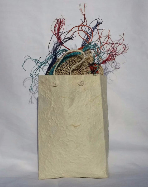 Sa Paper Gift Bag hand crafted in Laos using the bark of mulberry trees