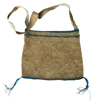 Sidh Eco-Friendly JungleVine® Tote Bag, aqua color.