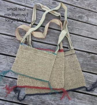 Sidh Eco-Friendly JungleVine® Tote Bag, sizes small, medium, and large.