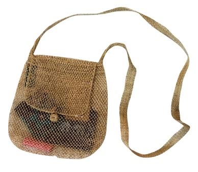 Sokdi Eco-Friendly JungleVine® Purse handmade of vine fiber.