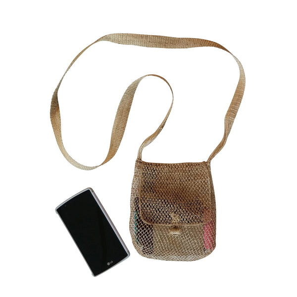 Small Sokdi Eco-Friendly JungleVine® Purse handmade of vine fiber.