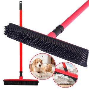 THE BARKING DOG Rubber Broom & Squeegee Pets n' Home - The Barking Dog Market