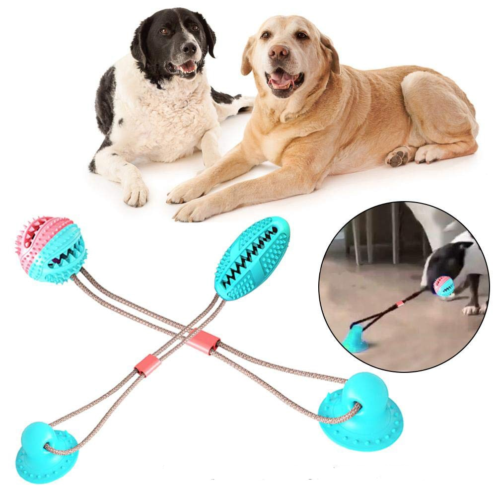 THE BARKING DOG Suction Cup Tug Toy