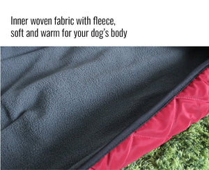 Winter Soft Warm Fleece Dog Jacket Coat