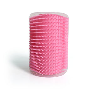 Happy Corner Self-Massage Brush For Cats PINK - The Barking Dog Market