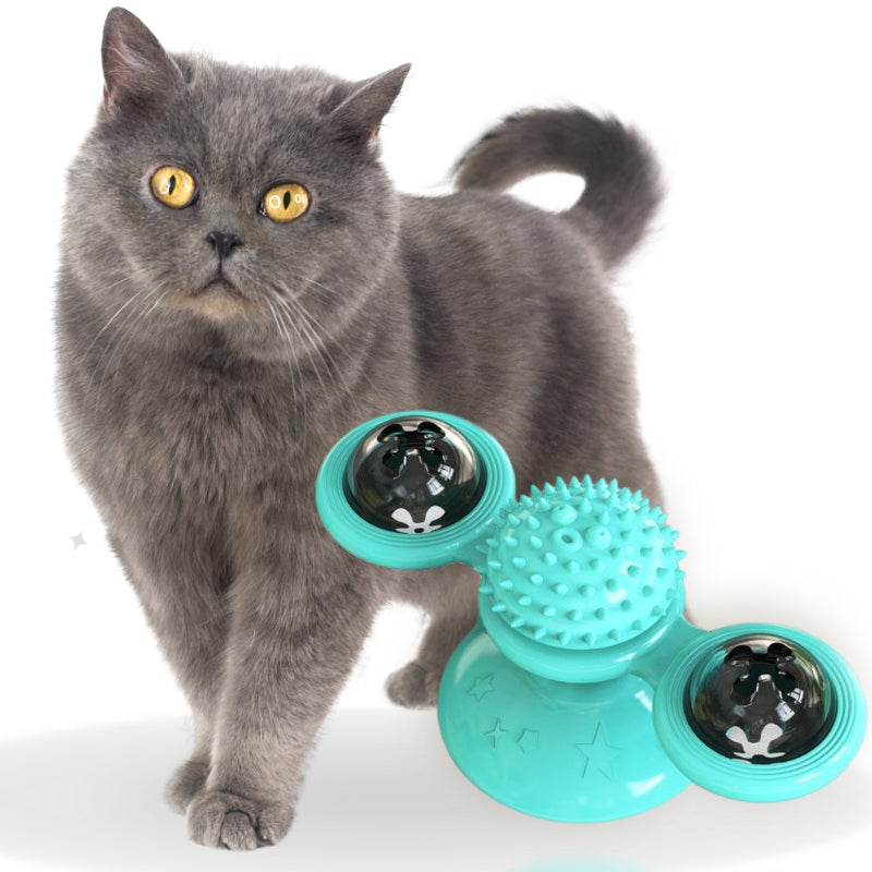 Windmill Spinner Toy for Cats