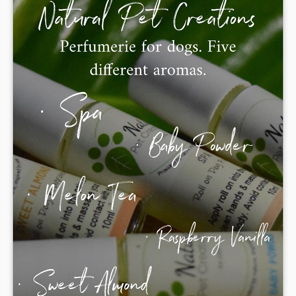 Pets Perfumerie Natural Creations Roll-On Fragrances for Cats and Dogs