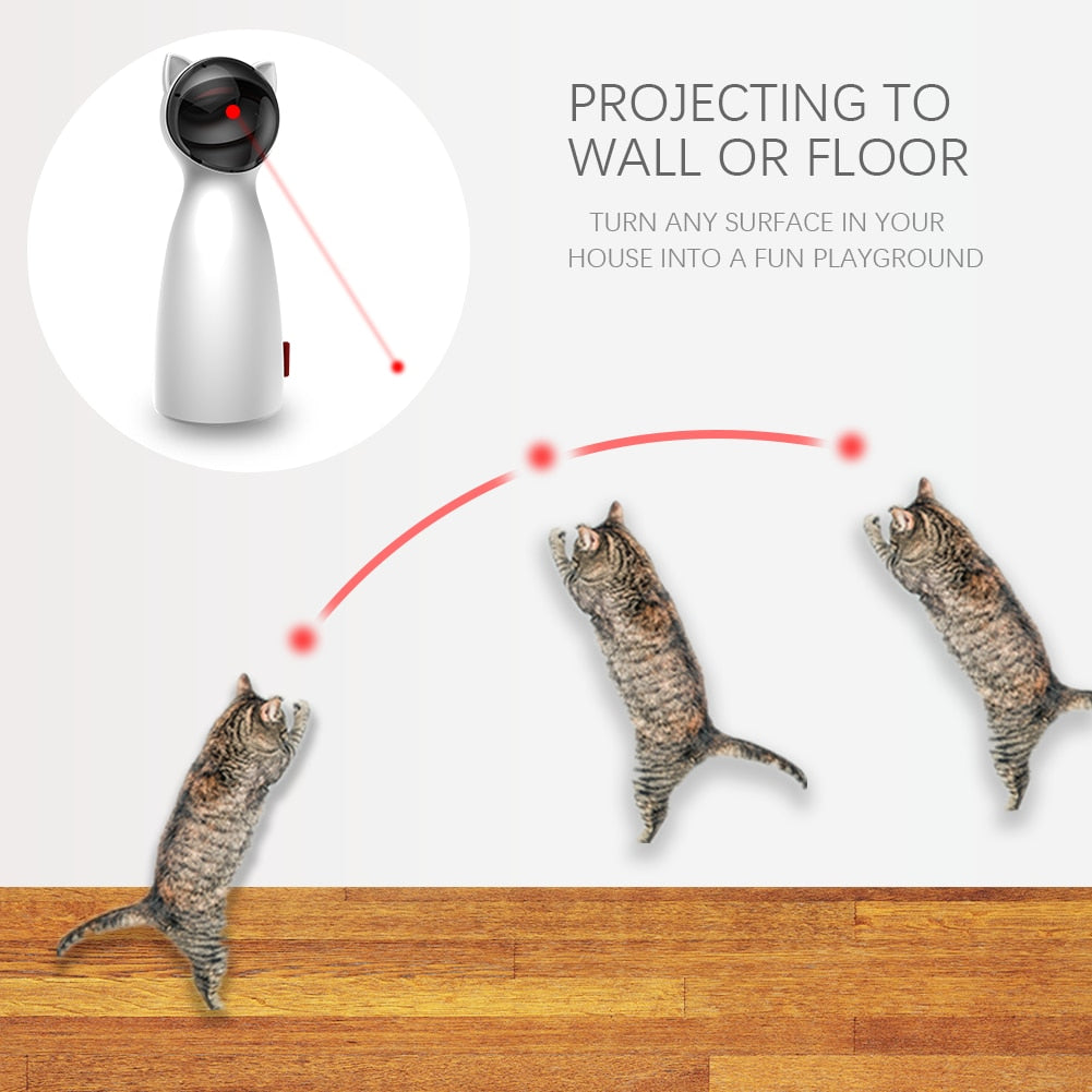 Automatic Laser Pointer Cat Toy