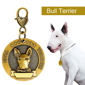 THE BARKING DOG Personalized Metal ID Tag