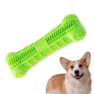 THE BARKING DOG Non-Toxic Dental Care Stick For Puppies and Small Dogs Green Large PetCare - The Barking Dog Market