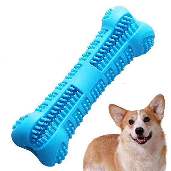 THE BARKING DOG Non-Toxic Dental Care Stick For Puppies and Small Dogs Blue Large PetCare - The Barking Dog Market